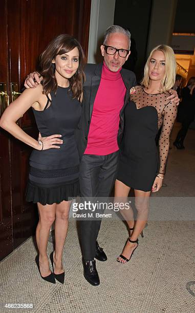 Natalie Imbruglia Patrick Cox and Caroline Stanbury attend the Alexander McQueen Savage Beauty VIP private view at the Victoria and Albert Museum on...