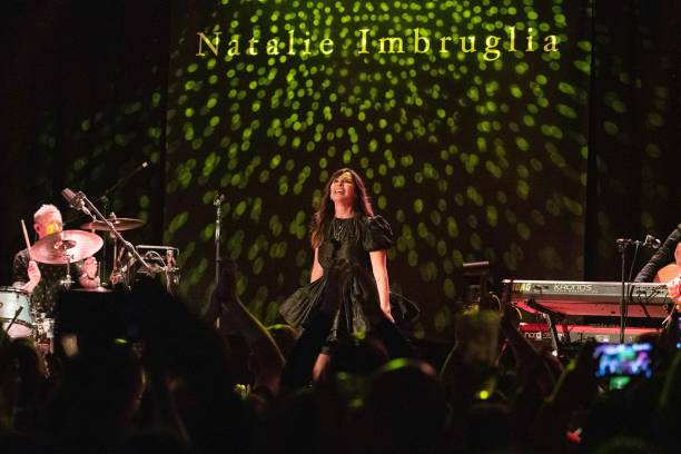 GBR: Natalie Imbruglia Performs At Lafayette