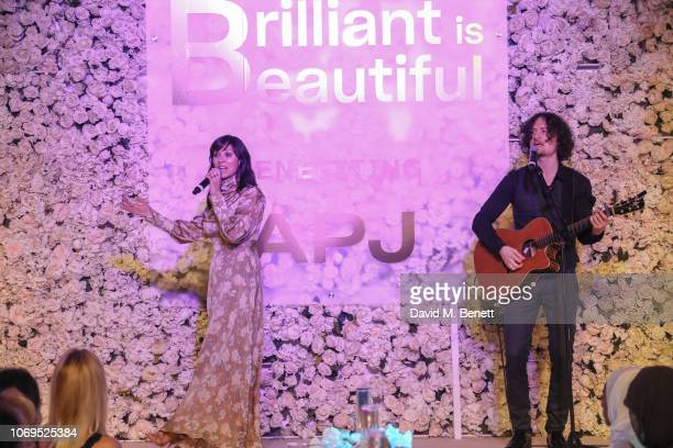 Natalie Imbruglia performs at the Artists for Peace and Justice Bovet 1822 Gala on December 7 2018 in Dubai United Arab Emirates Photo by David M...