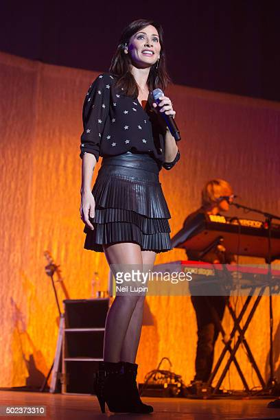 Natalie Imbruglia performs at The O2 Arena on December 17 2015 in London England