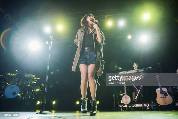 Natalie Imbruglia performs in concert at Sala Razzmatazz during Room Music Festival on February 25 2017 in Barcelona Spain