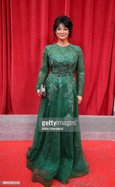 Natalie J Robb attends the British Soap Awards 2018 at Hackney Empire on June 2 2018 in London England
