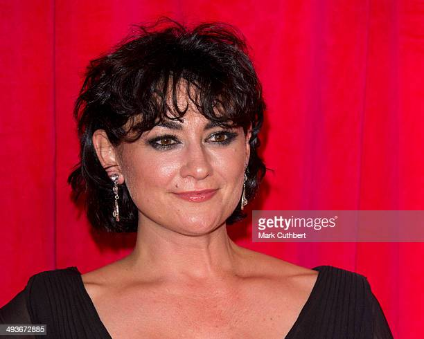Natalie J Robb attends the British Soap Awards at Hackney Empire on May 24 2014 in London England