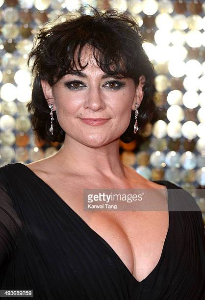 Natalie J Robb attends the British Soap Awards held at the Hackney Empire on May 24 2014 in London England