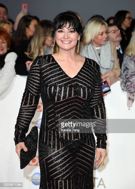 Natalie J Robb attends the National Television Awards 2020 at The O2 Arena on January 28 2020 in London England