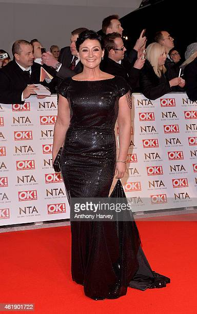 Natalie J Robb attends the National Television Awards at 02 Arena on January 21 2015 in London England