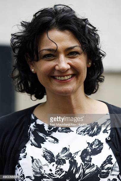 Natalie J Robb sighted leaving the ITV Studios3 May 13 2014 in London England