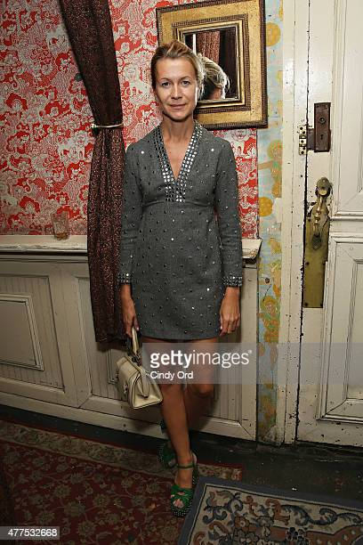 Natalie Joos attends the Casa Reale Fine Jewelry Launch at The Box on June 17 2015 in New York City