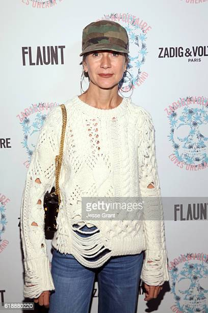 Natalie Joos attends the Zadig Voltaire and Flaunt Celebration of The FW16 Collection and The Oh La La Land Issue Ouest Coast at Zadig Voltaire on...