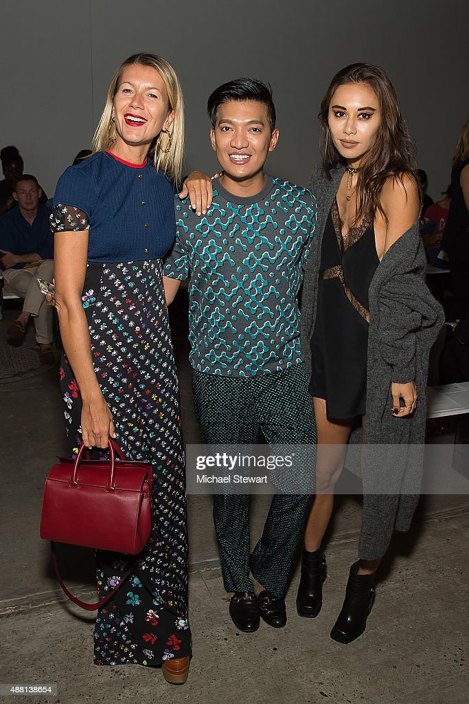 Thakoon - Front Row & Backstage - Spring 2016 New York Fashion Week