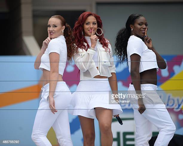 Natalie La Rose performs during Arthur Ashe Kids Day 2015 at the US Open at USTA Billie Jean King National Tennis Center on August 29, 2015 in New...
