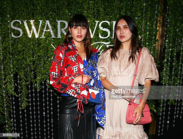 Natalie Lim Suarez and Dylana Suarez attend the 2018 CFDA Fashion Awards' Swarovski Award For Emerging Talent Nominee Cocktail Party at DUMBO House...