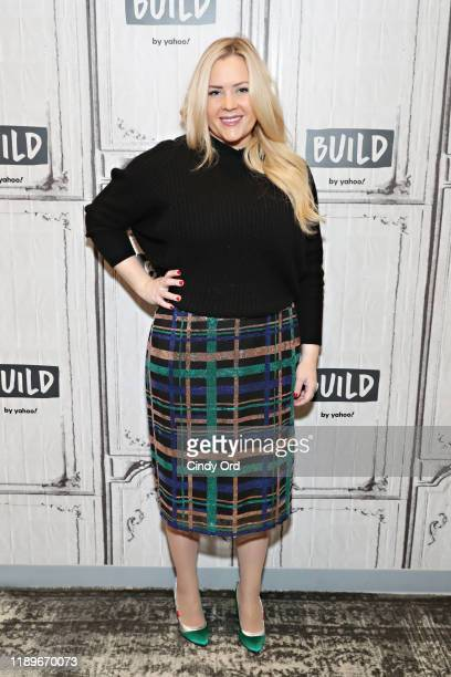 Natalie Mackey Founder of Winky Lux visits the Build Studio on December 20 2019 in New York City