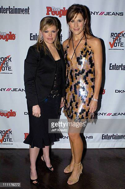 Natalie Maines and Emily Robison of the Dixie Chicks