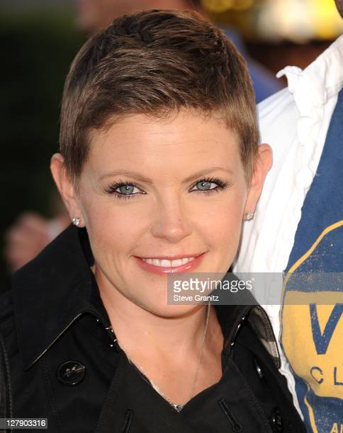 Natalie Maines attends the 'Real Steel' Los Angeles Premiere at Gibson Amphitheatre on October 2 2011 in Universal City California