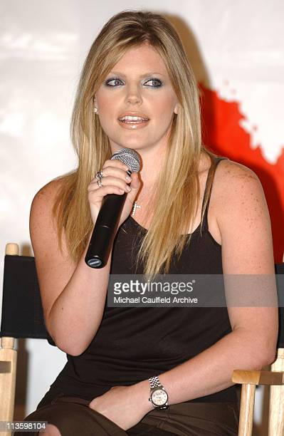 Natalie Maines during Dixie Chicks Join Forces with Rock the Vote at Casa Del Mar Hotel in Santa Monica California United States