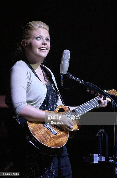 Natalie Maines during Vote For Change Tour Cleveland Ohio October 2 2004 in Cleveland Ohio United States