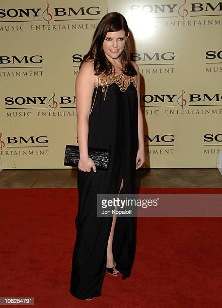 Natalie Maines of the Dixie Chicks during 2007 Sony/BMG GRAMMY After Party Arrivals at Beverly Hills Hotel in Beverly Hills California United States