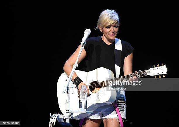 Natalie Maines of the Dixie Chicks performs onstage during the DCX World Tour MMXVI Opener on June 1 2016 in Cincinnati Ohio