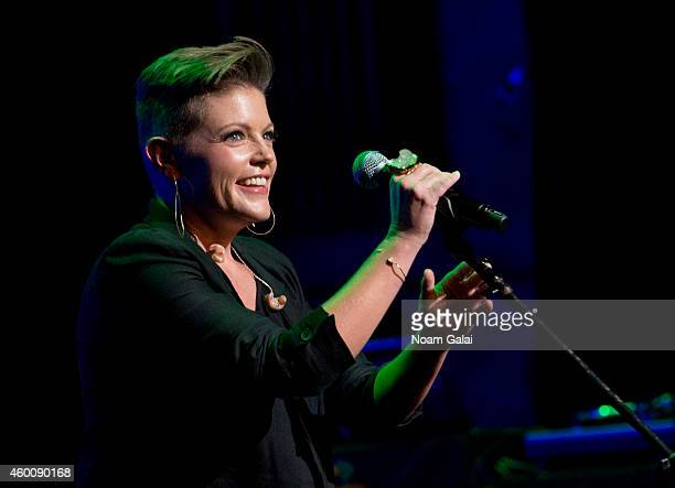 Natalie Maines performs during the 4th Annual Home For The Holidays Benefit Concert at Beacon Theatre on December 6 2014 in New York City