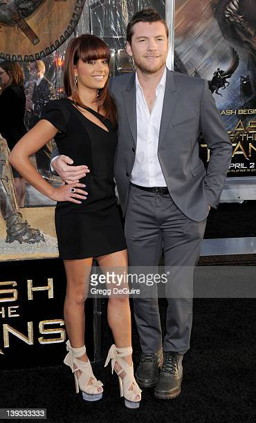 """Natalie Mark and Sam Worthington arrive at the Los Angeles Premiere of """"Clash Of The Titans"""" held at the Grauman's Chinese Theater on March 31, 2010..."""
