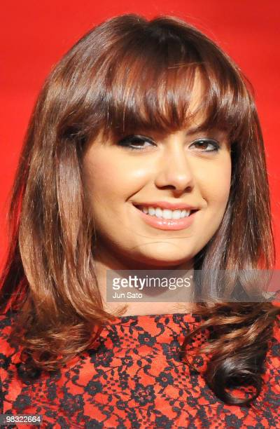 Natalie Mark attends the 'Clash of the Titans' Japan Premier at Roppongi Hills on April 8, 2010 in Tokyo, Japan. The film will open on April 23 in...