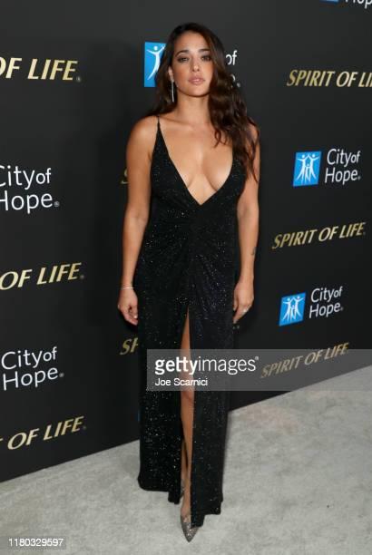 Natalie Martinez attends City Of Hope Spirit Of Life Gala 2019 on October 10 2019 in Santa Monica California