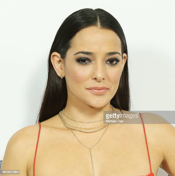 Natalie Martinez attends the Disney ABC Television Group hosts TCA Winter Press Tour 2018 held at The Langham Huntington on January 8 2018 in...