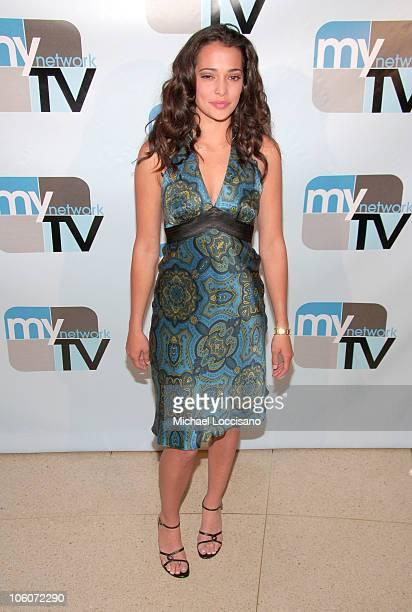 Natalie Martinez during 2006 MyNetworkTV UpFront at Hilton Theatre in New York City New York United States