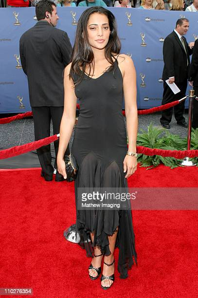 Natalie Martinez during 33rd Annual Daytime Emmy Awards Arrivals at Kodak Theater in Hollywood California United States