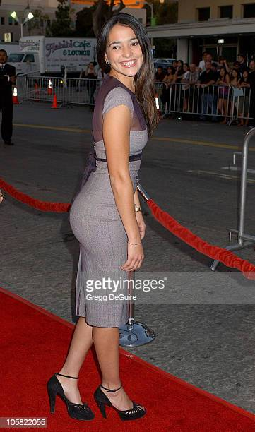 Natalie Martinez during 'Babel' Los Angeles Premiere Arrivals at Mann Village Theatre in Westwood California United States
