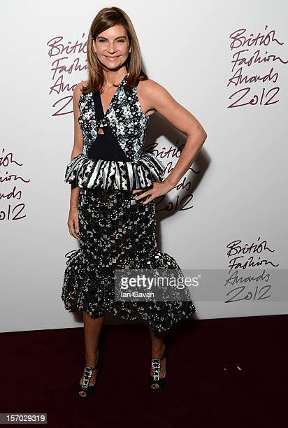 Natalie Massenet attends the British Fashion Awards 2012 at The Savoy Hotel on November 27 2012 in London England