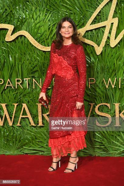 Natalie Massenet attends The Fashion Awards 2017 in partnership with Swarovski at Royal Albert Hall on December 4 2017 in London England