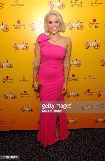 Natalie McQueen attends the Gala Night after party for 9 To 5 The Musical at The Savoy Hotel on February 17 2019 in London England