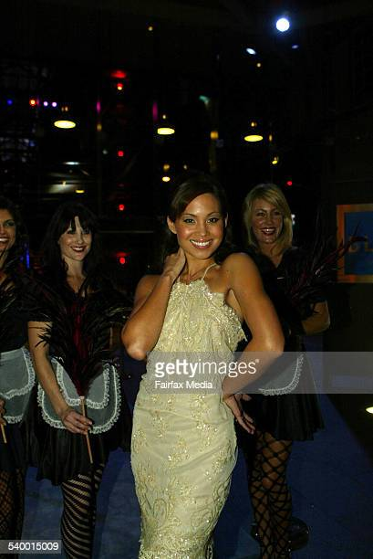 Natalie Mendoza at the Channel Nine party for the launch of the new television show 'Hotel Babylon' at the Blue bar at Woolloomooloo 12 April 2006...