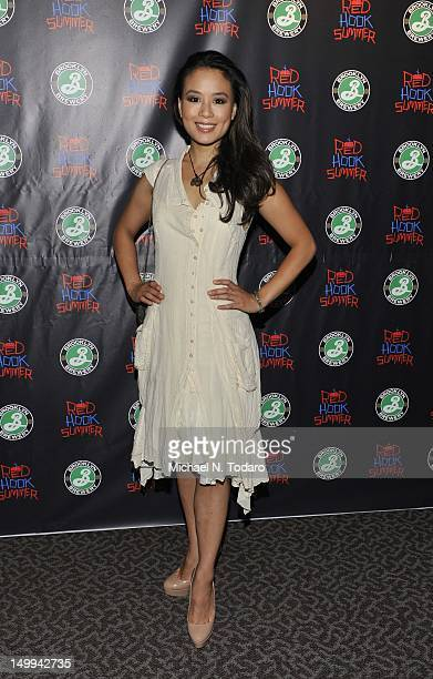 Natalie Mendoza attends the Red Hook Summer premiere at the DGA Theater on August 6 2012 in New York City