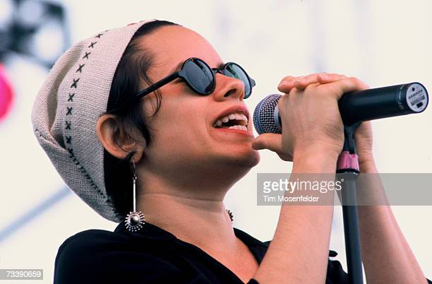 Natalie Merchant and 10000 Maniacs perform at Laguna Seca Daze on May 30 1993 in Laguna Seca California