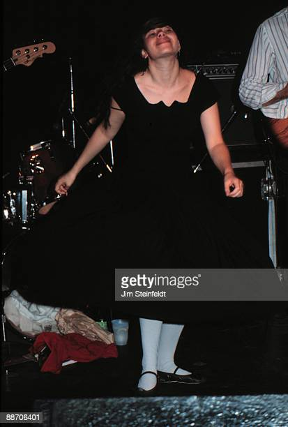 Natalie Merchant and her band Ten Thousand Maniacs performs at the Guthrie Theatre in Minneapolis Minnesota on April 17 1988