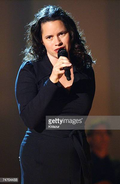 Natalie Merchant during TNT'Come Together' A Night for John Lennon's Words Music Dedicated to New York City and its People Show at the Radio City...