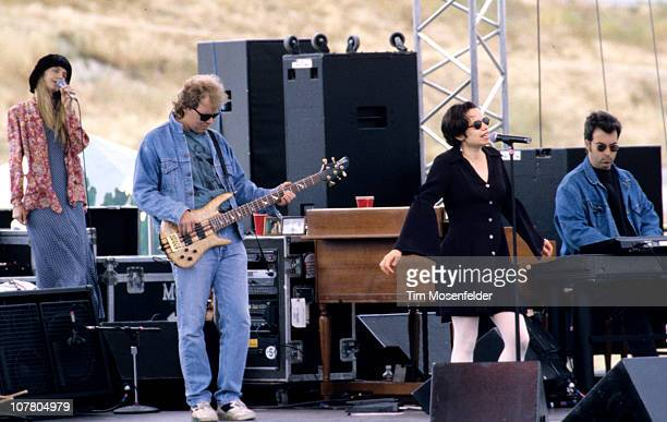 Natalie Merchant of 10000 Maniacs performs as part of Laguna Seca Daze on June 30 1993 in Monterey California