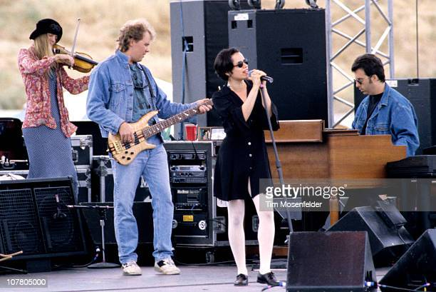 Natalie Merchant of 10000 Maniacs performs as part of Laguna Seca Daze on June 30 1993 in Monterey California
