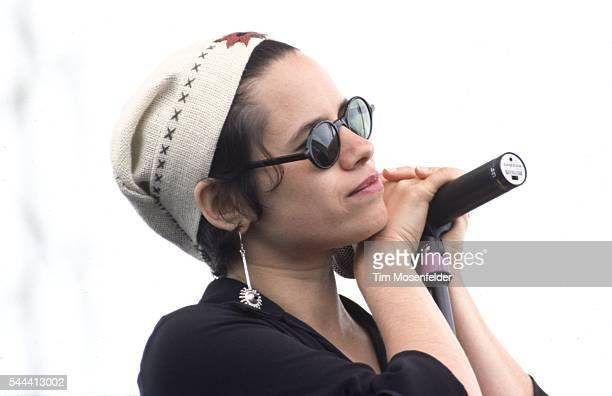 Natalie Merchant of 10000 Maniacs performs during Laguna Seca Daze at Laguna Seca Raceway on May 30 1993 in Laguna Seca California