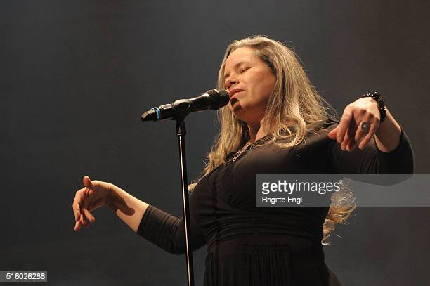 Natalie Merchant performs at Royal Albert Hall on March 16 2016 in London England