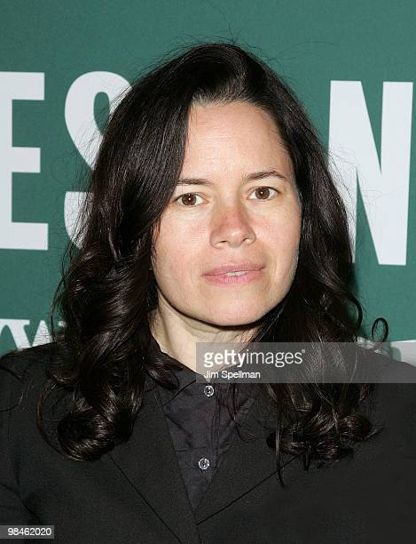 Natalie Merchant promotes Leave Your Sleep at Barnes Noble Union Square on April 14 2010 in New York City