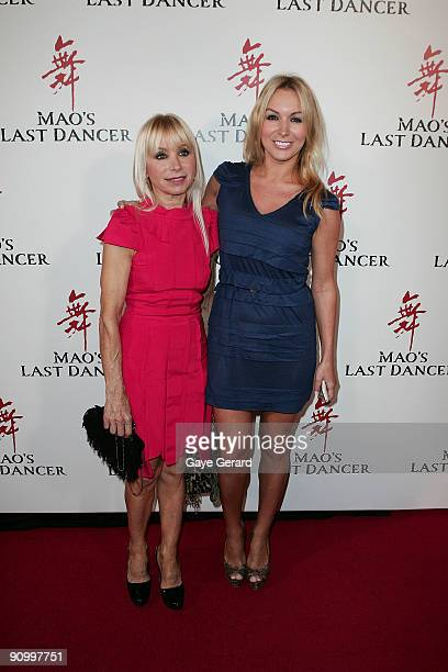 Natalie Michaels and mother Effie Michaels arrive for the premiere of 'Mao' Last Dancer' at the State Theatre on September 21, 2009 in Sydney,...