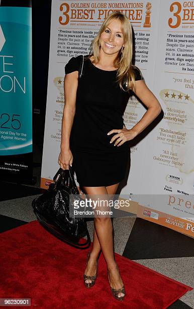 """Natalie Michaels attends the Australian premiere of """"Precious"""" at the Dendy Opera Quays on January 28, 2010 in Sydney, Australia."""