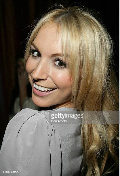Natalie Michaels attends the Kate Waterhouse Melbourne Cup Party at the Zeta Bar at The Hilton Hotel on November 6, 2007 in Sydney, Australia.