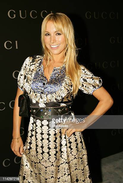 Natalie Michaels during Gucci Spring Summer 2007 Collections Launch at Carriageworks, Eveleigh in Sydney, NSW, Australia.