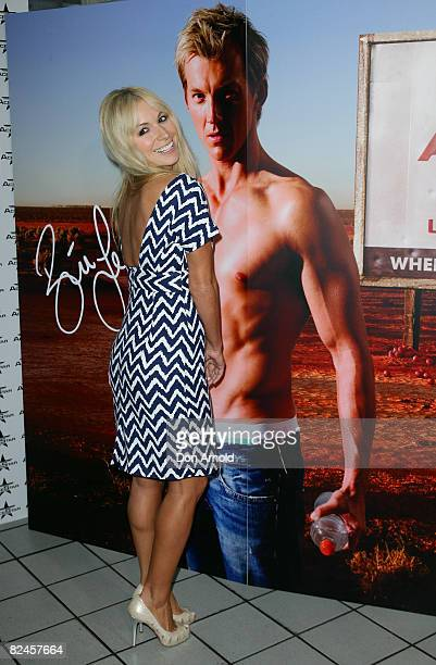 Natalie Michaels poses during the official launch of the AceStar underwear range at Pink Salt on August 19, 2008 in Sydney, Australia.