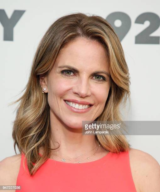 Natalie Morales appears in conversation with Al Roker at 92nd Street Y on April 16 2018 in New York City